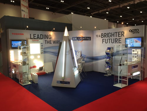 Portable Exhibition Lighting : Exhibition display stands exhibition stand design portable display